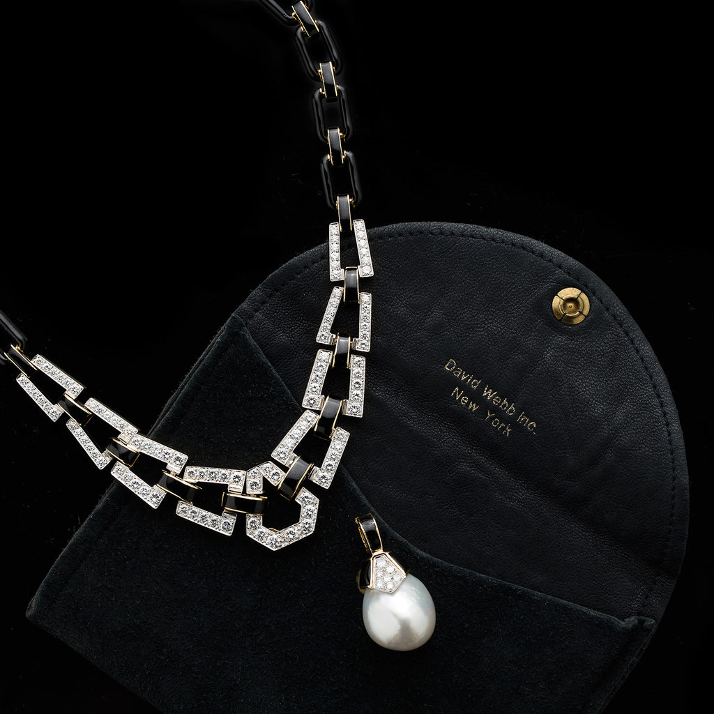 pearl and necklace winterson in akoya diamond gold pendant yellow with