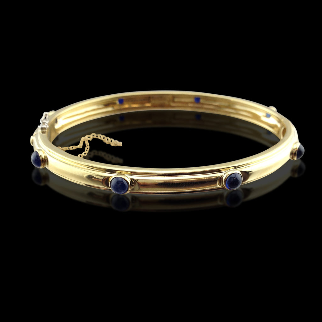 sapphire diamond bracelet product bangle gold diamonds pearl white pearls sapphires bangles