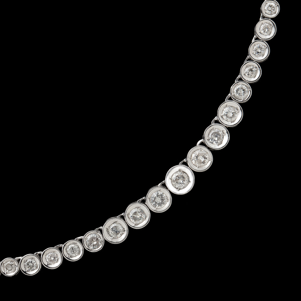 necklace bracelets riviere combo carat diamond platinum