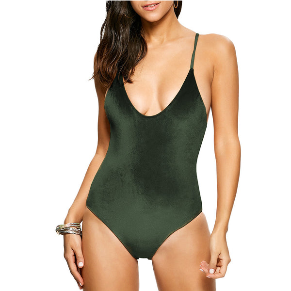 Ithaca Velor One Piece swimwear - Aqua Melia