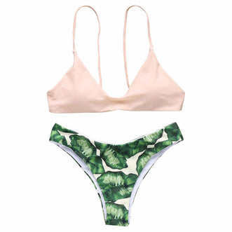 Molokai Brazilian Two Piece swimwear - Aqua Melia