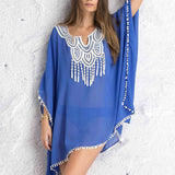 Ethnic Erasmo Cover Up beachwear - Aqua Melia