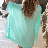 Nasida Cover Up beachwear - Aqua Melia