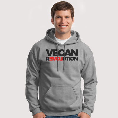 Men's Vegan Revolution Hoodie - PrimaVegan