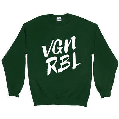 Men's VGN RBL Sweatshirt - PrimaVegan