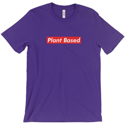 Men's Plant Based Red T-Shirt - PrimaVegan
