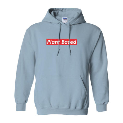 Men's Plant Based Red Hoodie - PrimaVegan