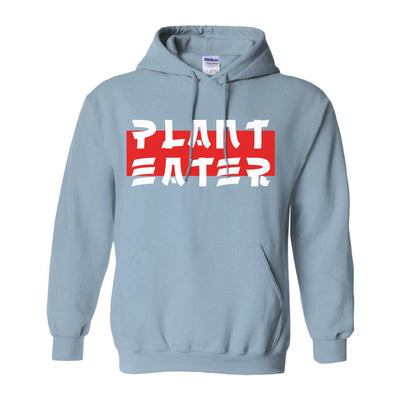 Men's Asian Style Plant Eater Hoodie - PrimaVegan