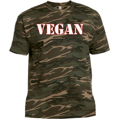 Men's Vegan Camo T-Shirt - PrimaVegan