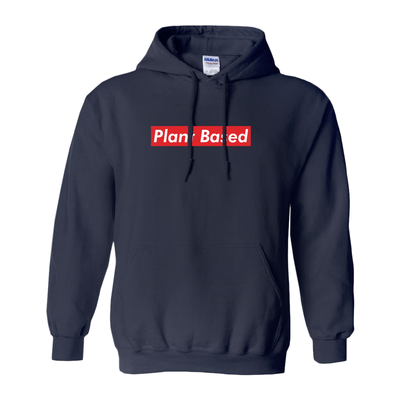 Women's Plant Based Red Hoodie - PrimaVegan