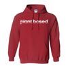 Women's Striped Plant Based Hoodie - PrimaVegan