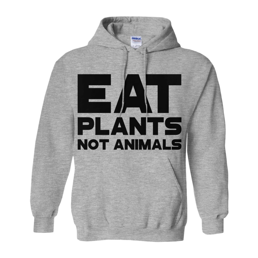 Women's Eat Plants, Not Animals Hoodie - PrimaVegan
