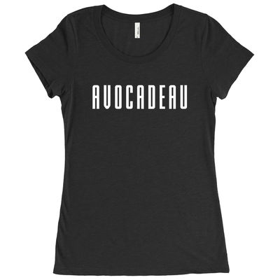 Women's Avocadeau T-Shirt - PrimaVegan