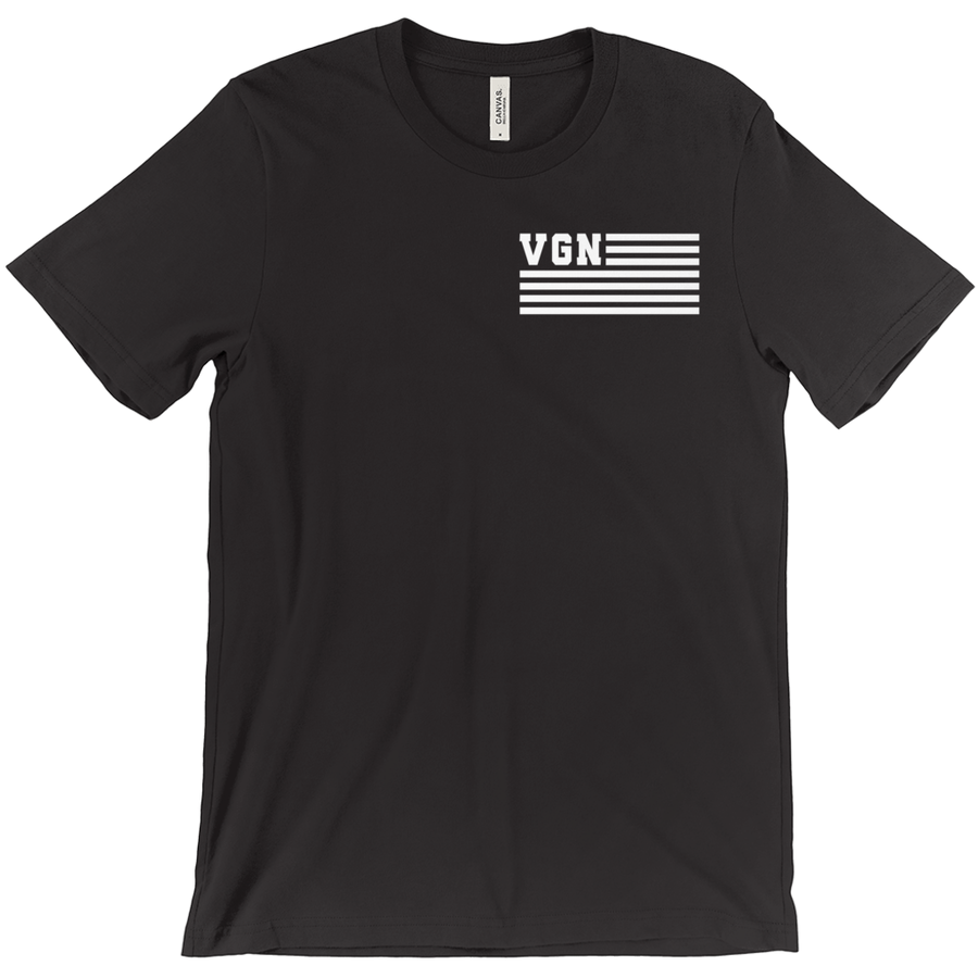 Men's VGN Flag II T-Shirt - PrimaVegan