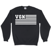 Men's VGN Flag Sweatshirt - PrimaVegan