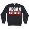 Men's Vegan Activist Sweatshirt - PrimaVegan