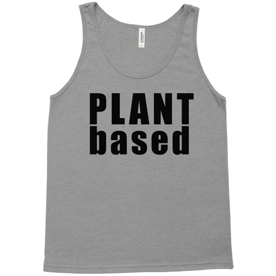 Plant Based Unisex Tank Top - PrimaVegan