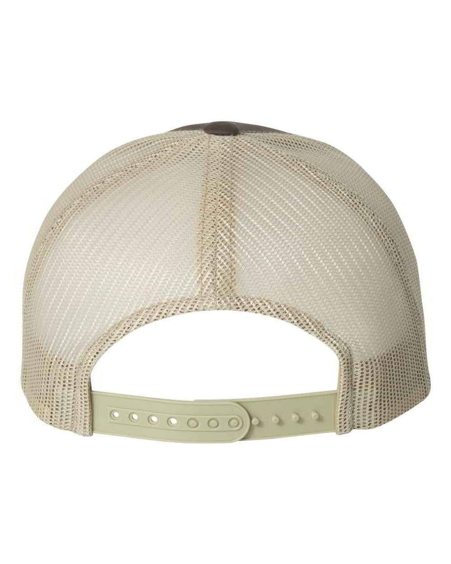 Brown & Gold Vegan - Trucker Cap - PrimaVegan