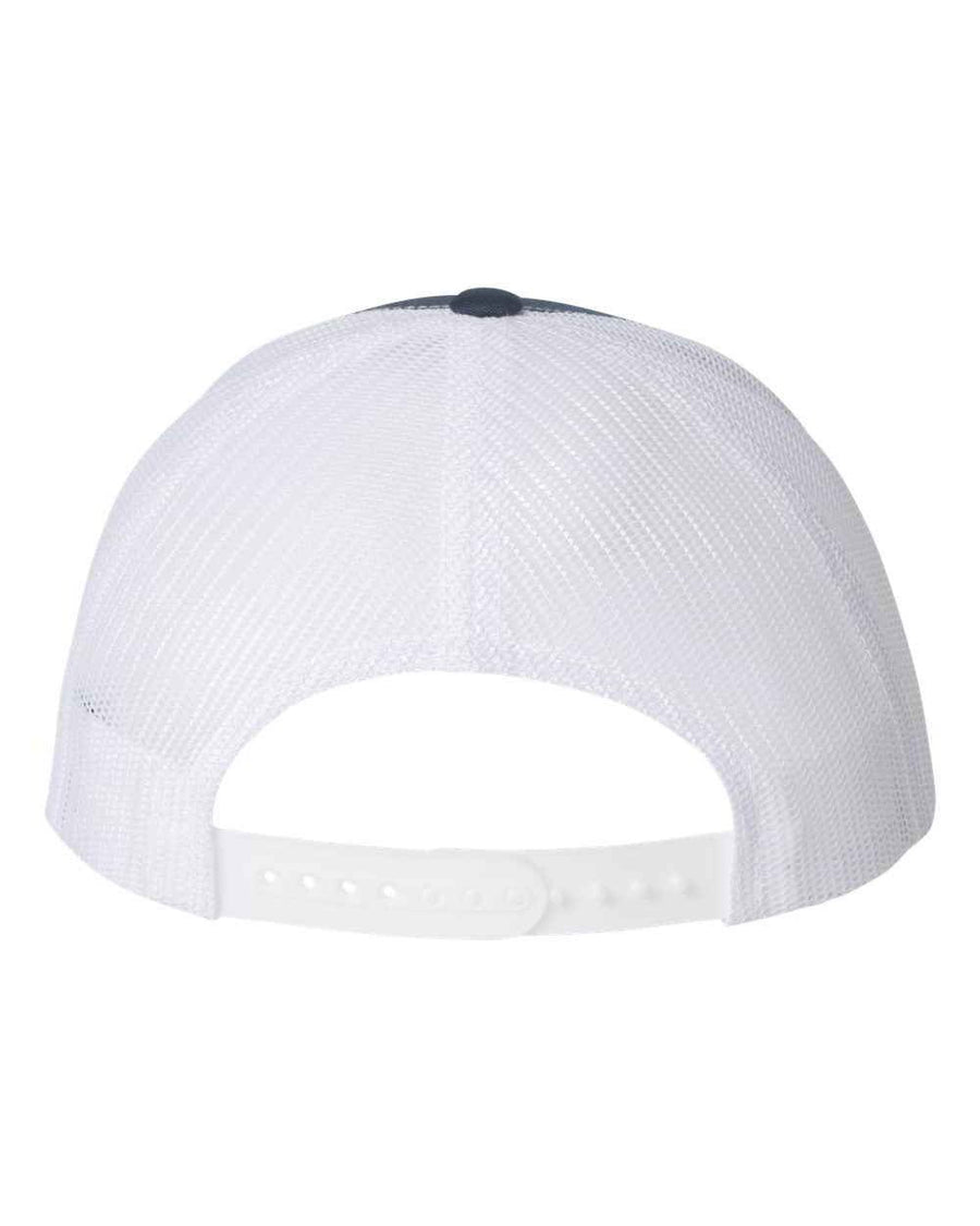 Navy & White Vegan - Trucker Cap - PrimaVegan
