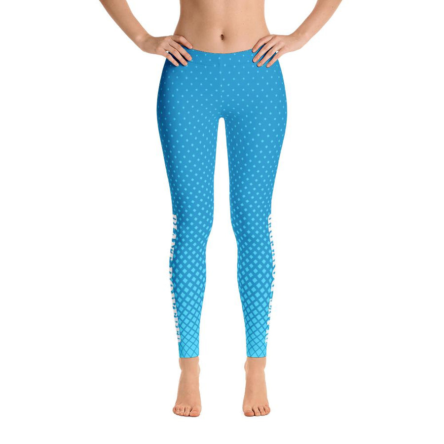 Blue Dots Leggings - PrimaVegan