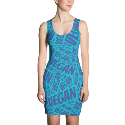 All Over Vegan Dress - PrimaVegan