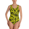 All Over Vegan Bathing Suit - PrimaVegan
