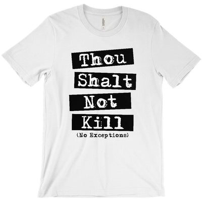 Men's Thou Shalt Not Kill T-Shirt - PrimaVegan