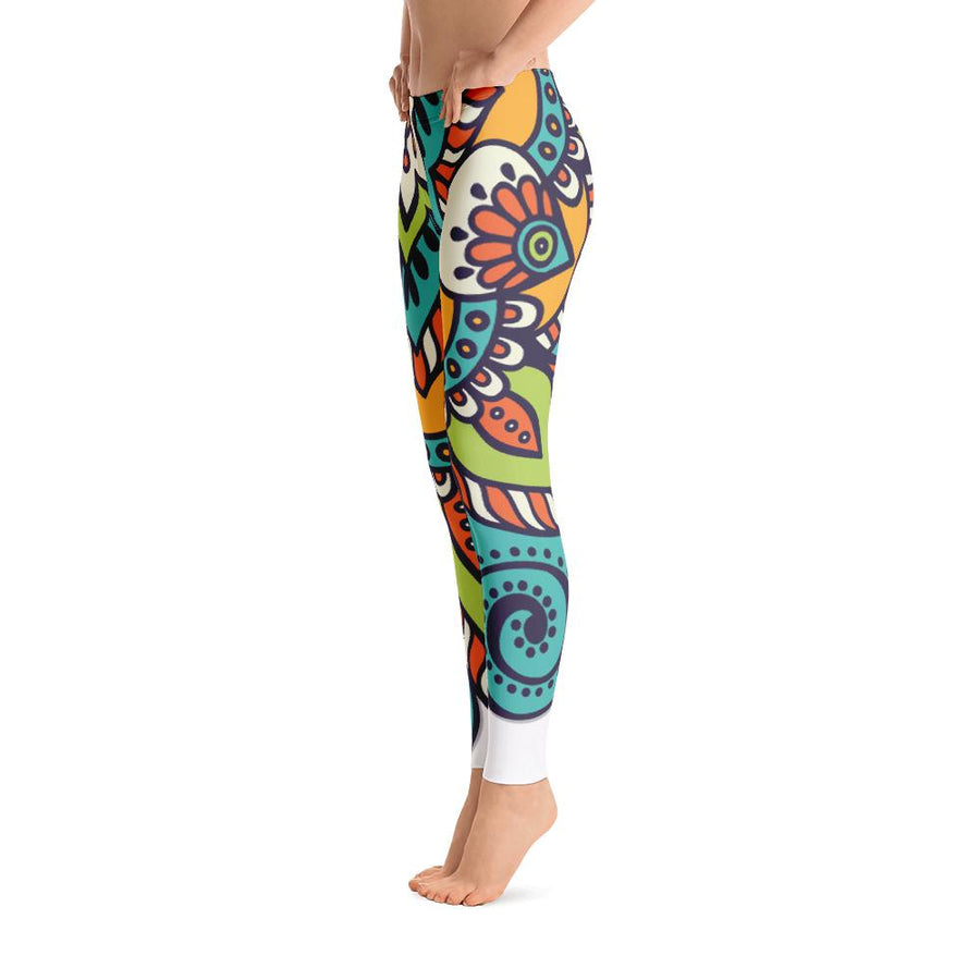 Bright Mandala Leggings - PrimaVegan