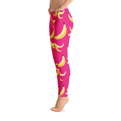 Pink Banana Leggings - PrimaVegan