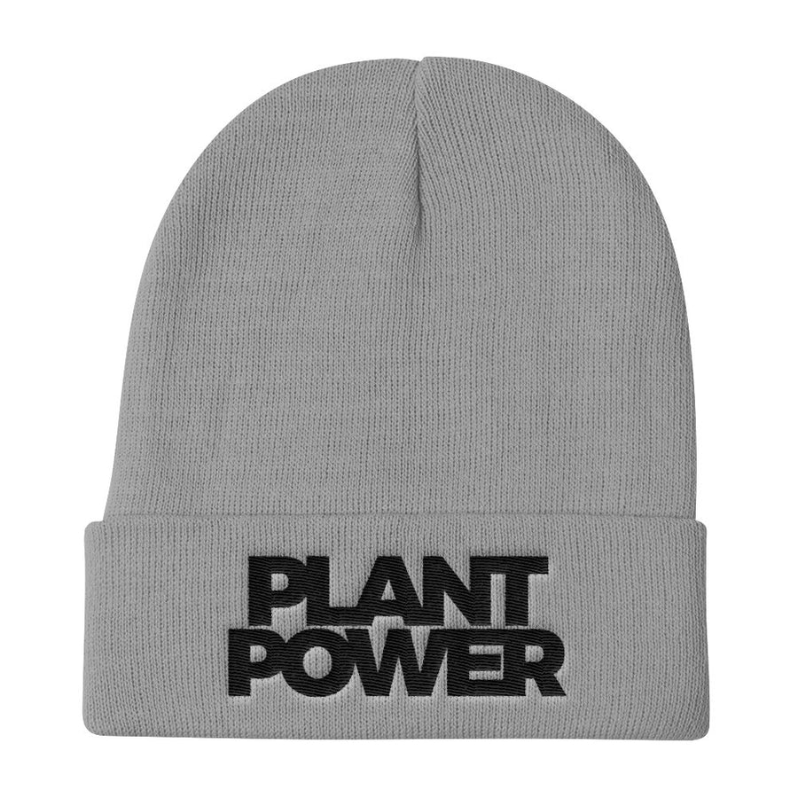 42909cfcb83 Plant Power Beanie - PrimaVegan