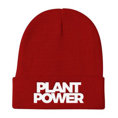 Plant Power Beanie - PrimaVegan