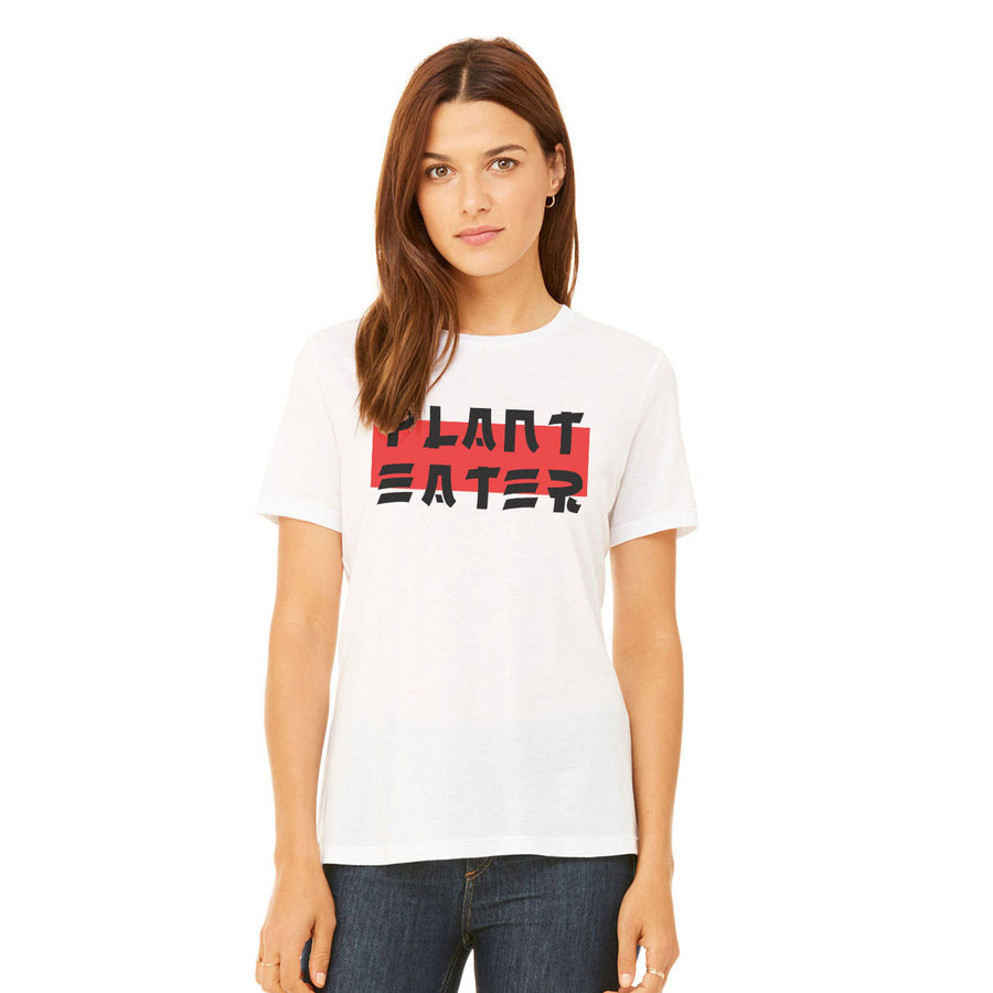 Women's Asian Style Plant Eater Shirt - PrimaVegan