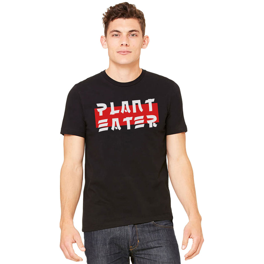 Men's Asian Style Plant Eater Shirt - PrimaVegan