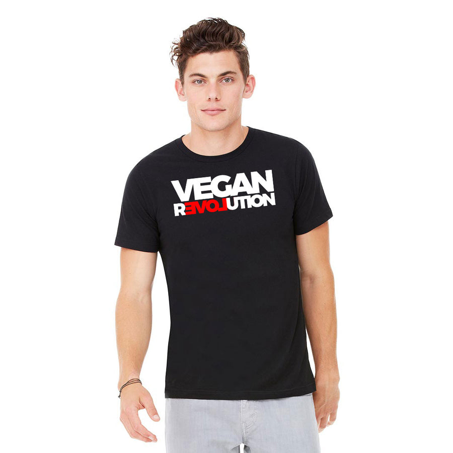 Men's Vegan Revolution T-Shirt - PrimaVegan