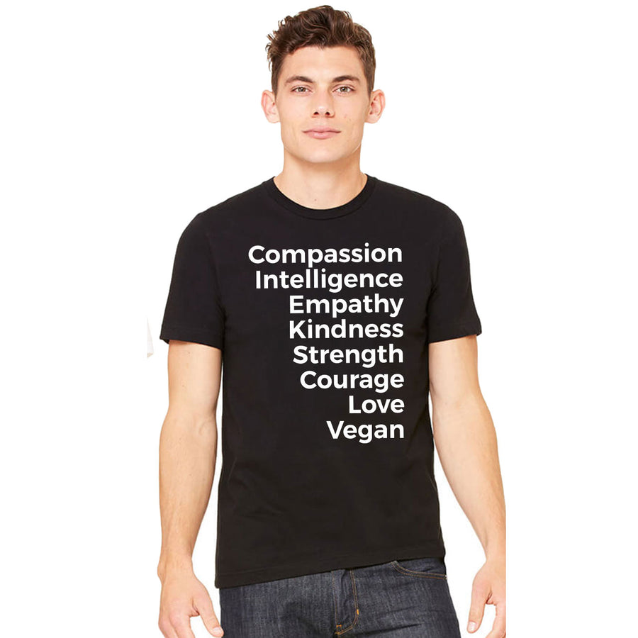 Men's Vegan Values T-Shirt - PrimaVegan