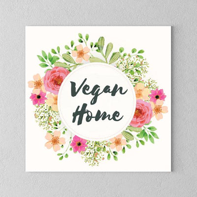 Vegan Home Canvas - PrimaVegan