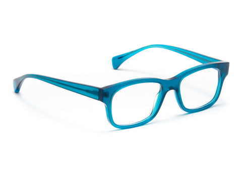 Jacques Durand blue acetate frame
