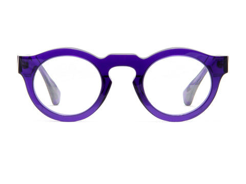 Jacques Durand purple acetate frame