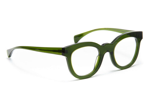 Jacques Durand green acetate frame