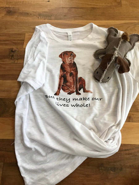 Gifts for mom/Labrador/Love our animals/Watercolor Labrador tee/Dog Lover shirt/animal tee/Dogs/Dog shirt/Labrador shirt/Pet shirt