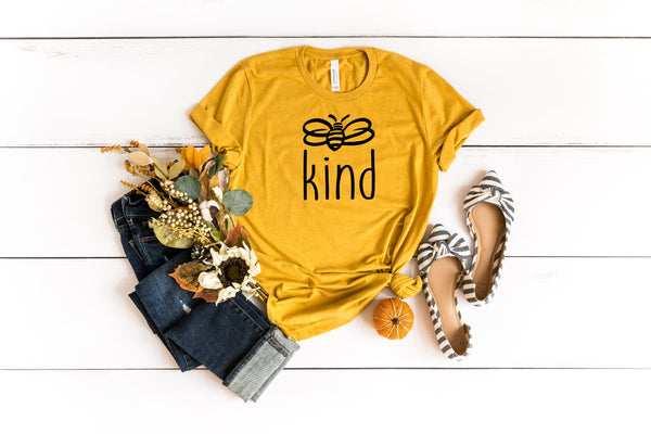 Be kind shirt | Bee Kind | Be Kind shirt | mom life | Happiness matters | Honey Bee | Mom Tee |