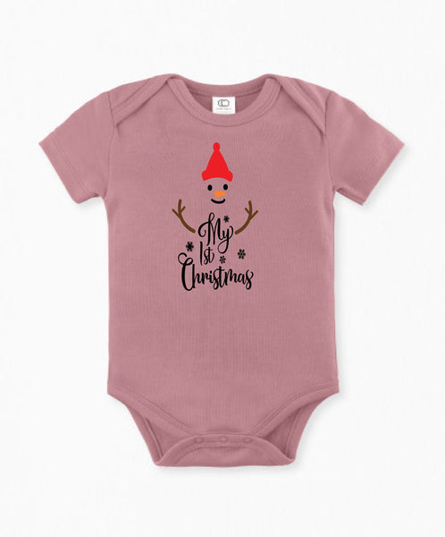 Christmas infant/1st Christmas outfit/Holiday baby outfit/baby wearables/shower gift/Pregnancy announcement/baby gift/baby outfit/