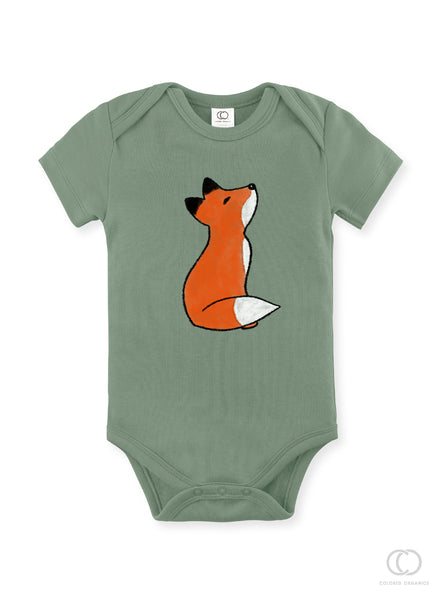 baby clothing/woodland bodysuit/baby outfit/fox baby outfit/shower gift/Baby Gift/newborn/fox tee/baby bodysuit/baby girl/baby boy