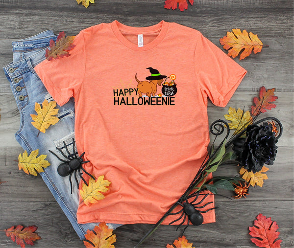 Halloween shirt,  Halloween Dog shirt, Dachshund shirt, Weenie dog shirt, Ladies shirt, gift for her, mom shirt, Love shirt, funny shirt