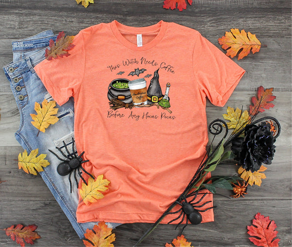Halloween shirt,  Hocus Pocus shirt, Funny Halloween shirt, Witch Shirt, Fall shirt, Ladies shirt, gift for her, mom shirt, funny shirt