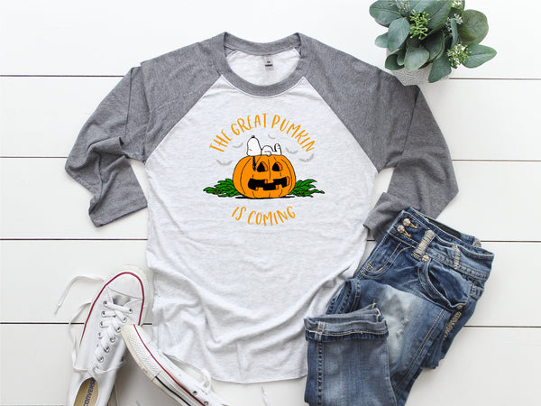 Great Pumpkin shirt, Halloween pumpkin, Halloween shirt, Funny fall shirt, Funny shirt,  Halloween Boo shirt, Great Pumpkin shirt