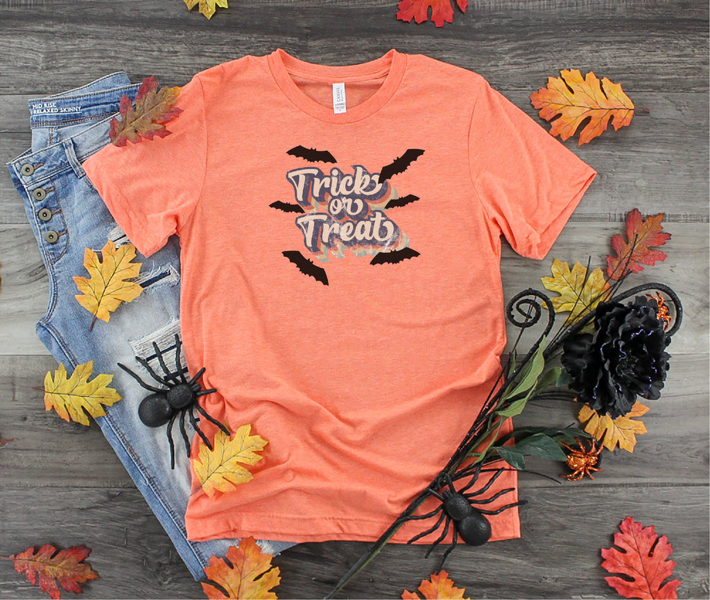Halloween shirt,  Trick or treat shirt, Funny Halloween shirt, Witch Shirt, Fall shirt, Ladies shirt, gift for her, mom shirt, funny shirt