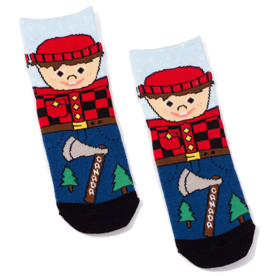 Main and Local - Childrens Lumberjack Socks - Birch Hill Studio