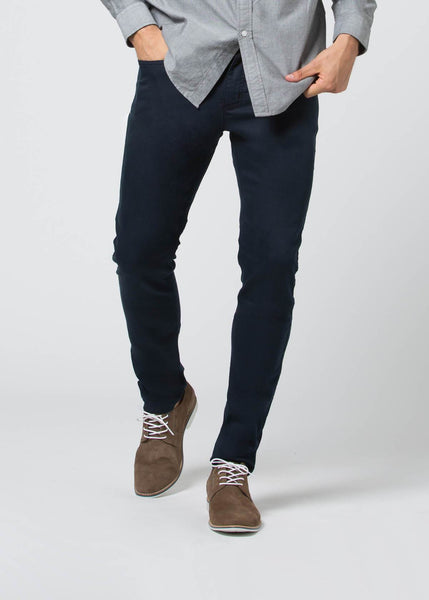 "DU/ER ""Navy"" SLIM N2X 5 Pocket Pant - Birch Hill Studio"