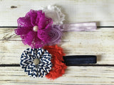 Headband- Shabby Chic